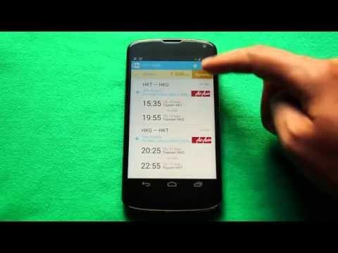 Купить авиабилеты ? Как купить авиабилеты - в видео-обзоре приложения Aviasales Android App 1.5