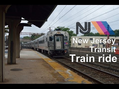 New Jersey Transit (NJT) train ride - August 2015