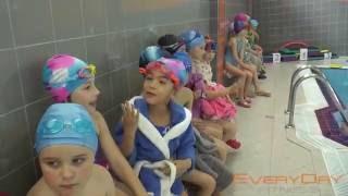 Детские соревнования по плаванию в EveryDay Fitness