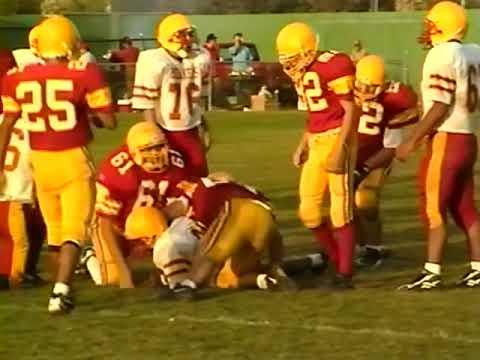 Pacific Grove High School Football JV & Varsity vs Palma 1990's probably