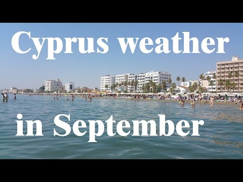 Cyprus Weather In September
