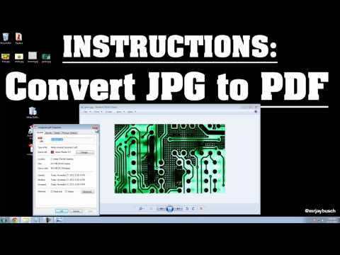 [SOLVED] - Convert JPG To PDF - Simple, No Software, Easy, Online