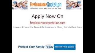 Looking For Affordable Term Life Insurance? Free? : Get Affordable Term Life Insurance Here!