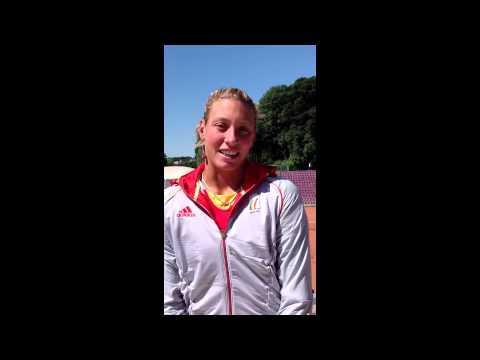 Yanina Wickmayer (Persvoorstelling, Olympische Spelen)