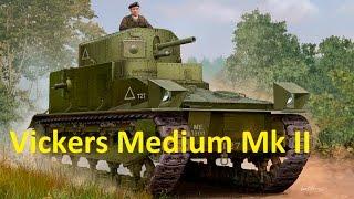 танки Великобритании. Vickers Medium Mk II(Играем с друзьями в World of Tanks Blitz. Помогаем новичкам. За мат и оскорбления - БАН без предупреждения World of Tanks..., 2016-08-14T07:00:00.000Z)