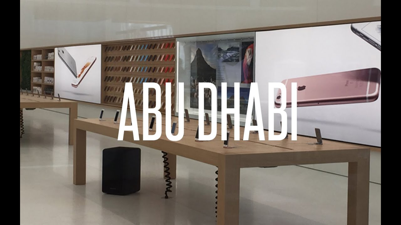 Inside The Apple Store Abu Dhabi U0026 Dubai, United Arab Emirates #UAE    YouTube