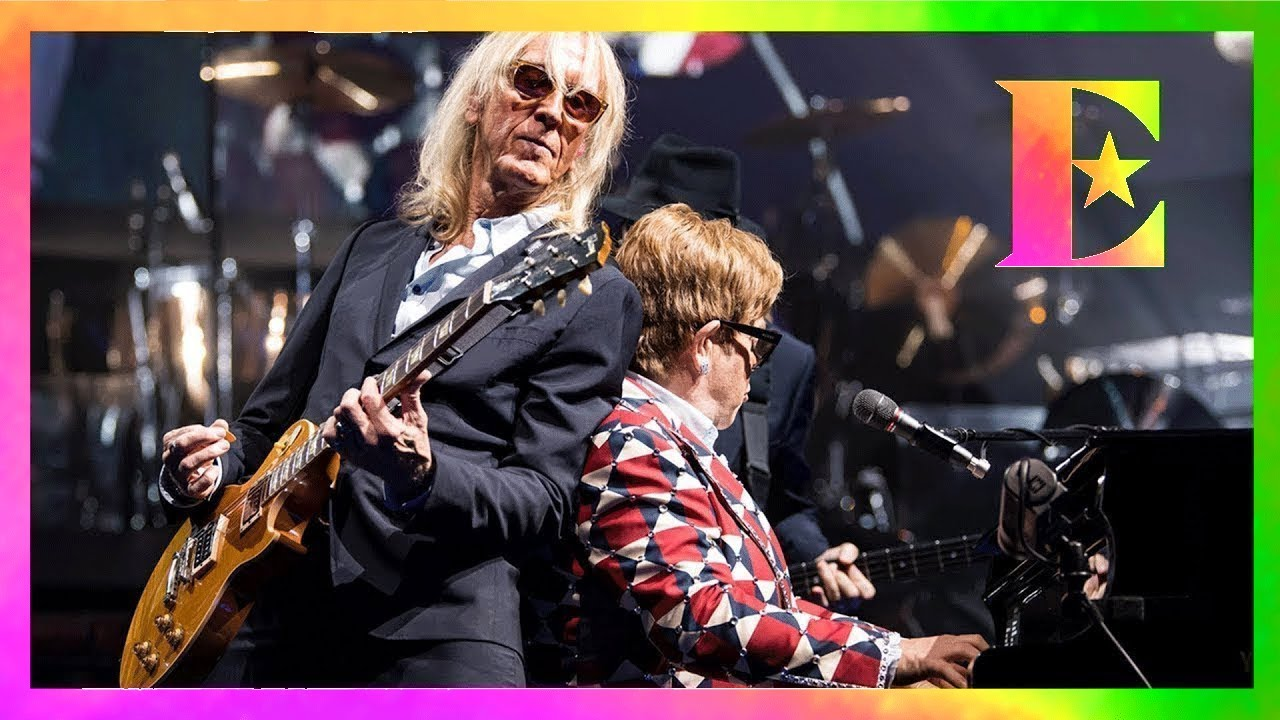 Elton John — Davey Johnstone's 3,000th Show