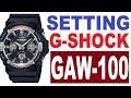 Setting Casio G-Shock GAW-100 manual 5444