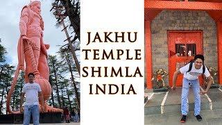 Jakhu Temple Shimla | Big Hanuman Statue | Hanuman Temple | Monkey Temple