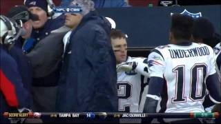 Tom Brady, Bill O'Brien Getting it in...
