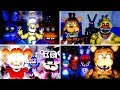 Evolution Of Five Nights At Freddy's 1-5 Unreal Engine 4