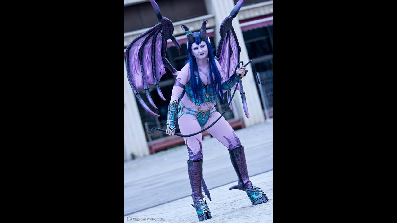 WIP Video WoW Succubus Wings