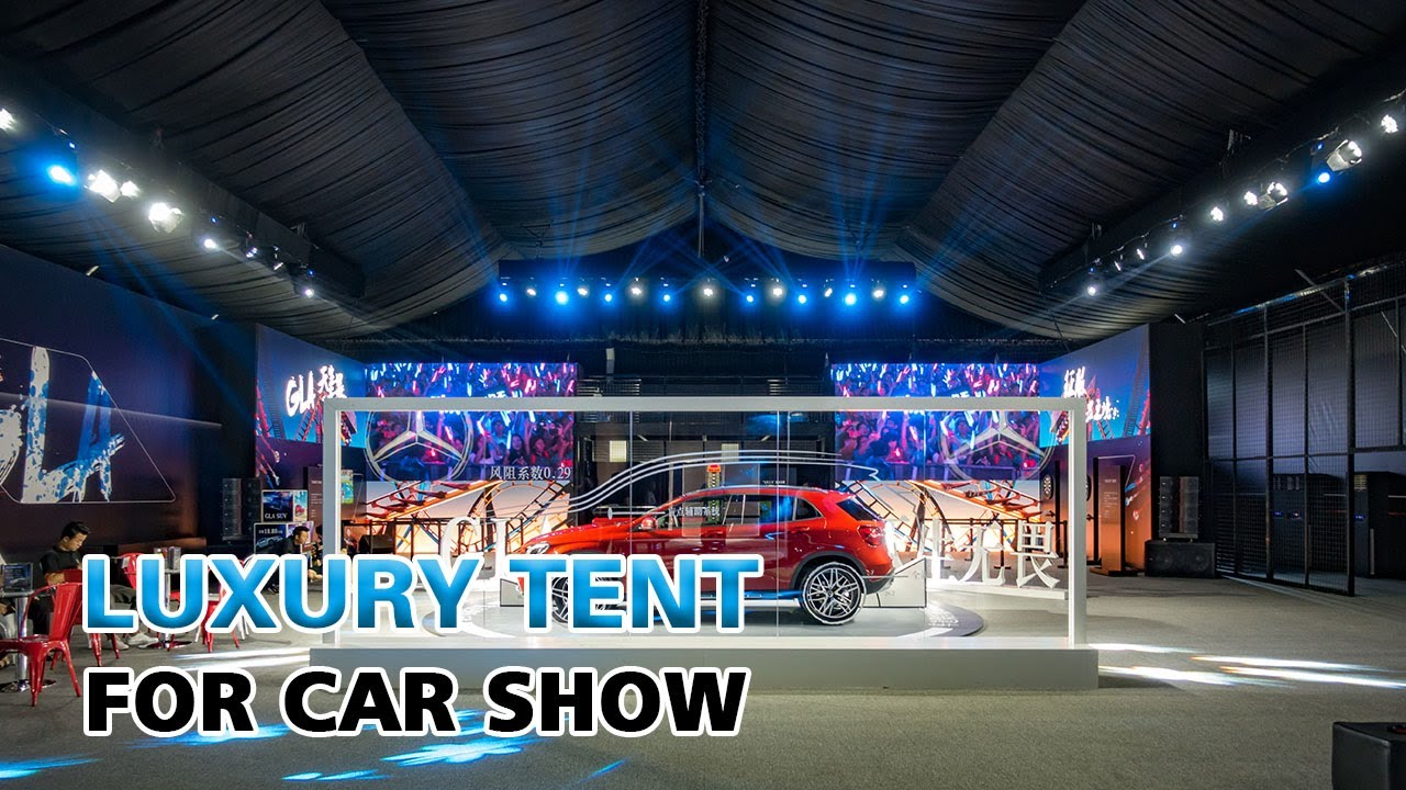 Liri Tent For Car Show Exhibition Tent Luxury Tent For Event Car - Car show tent