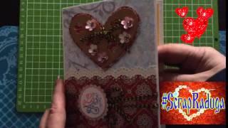 Видео-обзор открыток.  Валентинка -2. Сделано с любовью.