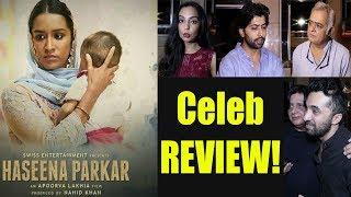 Haseena Parkar CELEB REVIEW | Shraddha Kapoor | Siddhanth Kapoor | Apoorva Lakhia | FilmiBeat