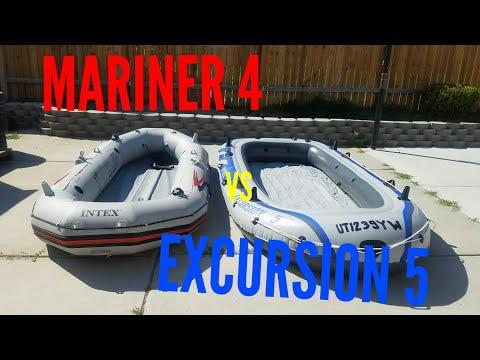 Intex Mariner 4 vs Intex Excursion 5