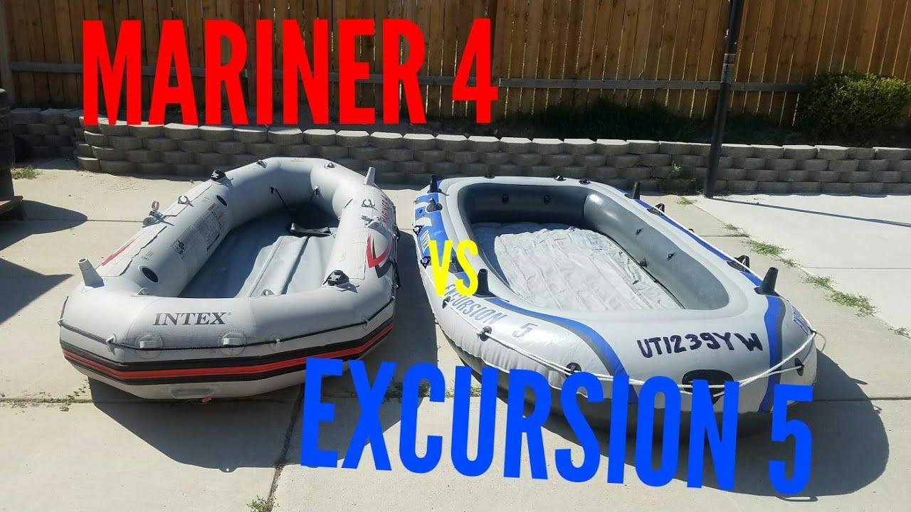 Intex Mariner 4 Vs Excursion 5