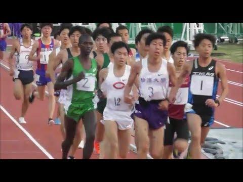 【頑張れ中大】法政大競技会 5000m3組 加井/宇賀地・クイラPM 2019.5.5
