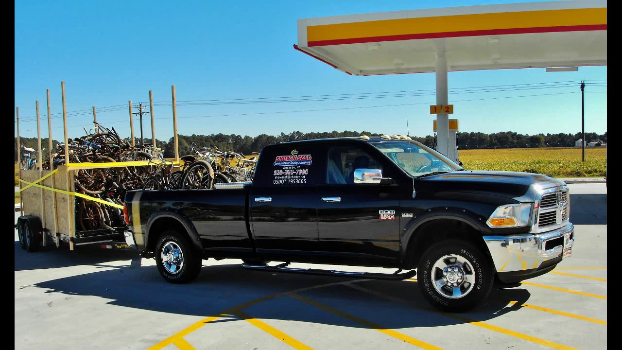 Hot Shot Trucking Loads >> Hot Shot Loads For Pickup Trucks - YouTube