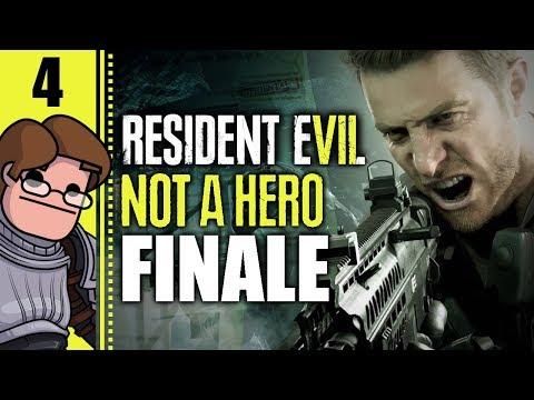 Let's Play Resident Evil 7: Not A Hero Part 4 FINALE - Lucas Baker