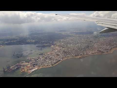 Landing in Montevideo Gol G3 7630 Seat 31A Janela Sao Paulo to Montevideo GRU MVD