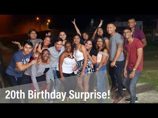 My 20th BIRTHDAY SURPRISE Celebration   Suriname - VLOG 10