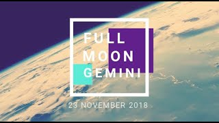 Full Moon Gemini 23 November 2018