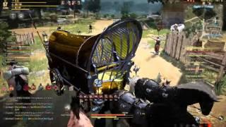 Black Desert online warrior Friendly GvG fight =)