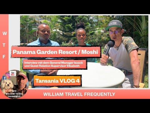 Das Panama Garden Resort Hotel in Moshi - Refugium für müde Kilimandscharo Bezwinger !