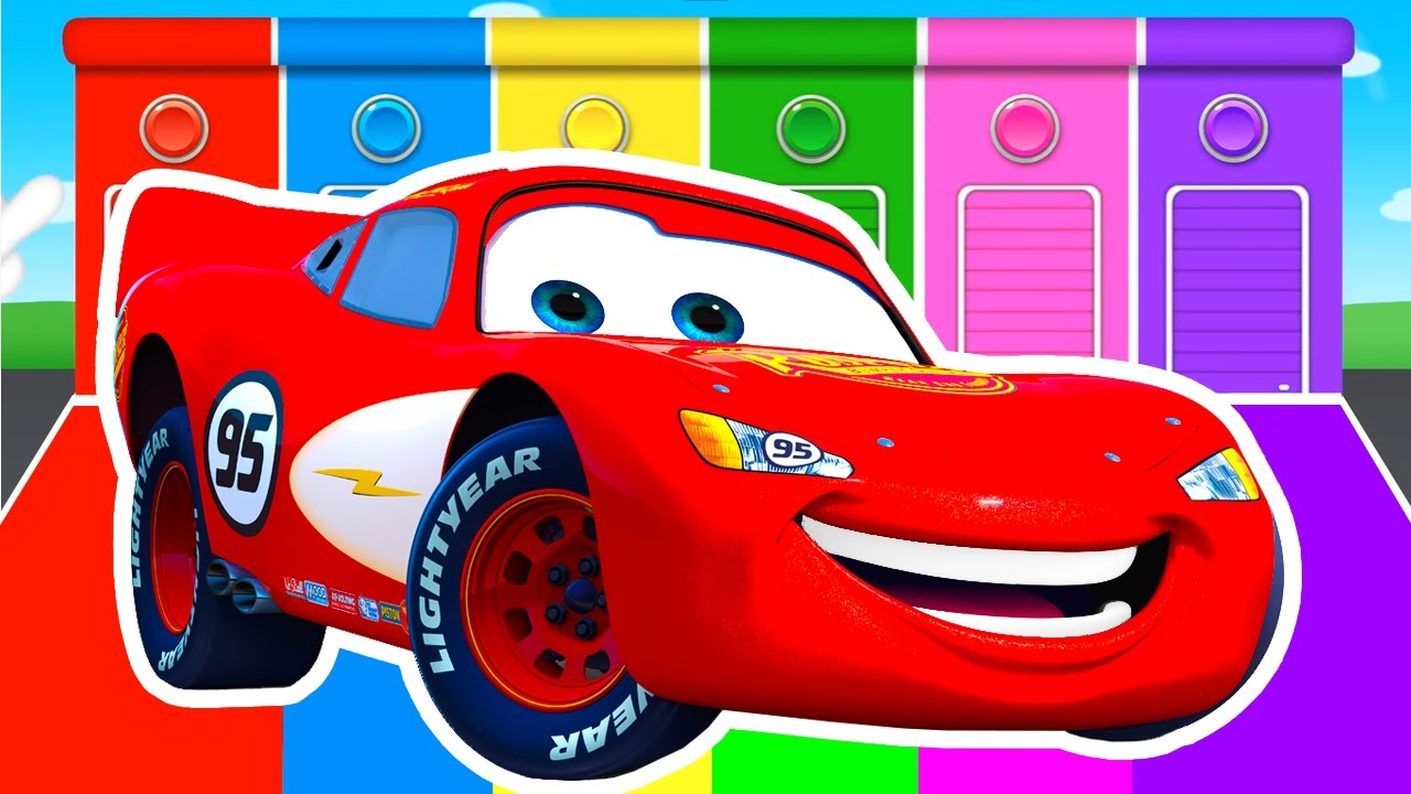 cars colors learning educational