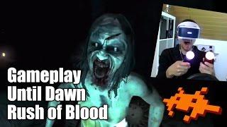 Gameplay Until Dawn Rush of Blood - PlayStation VR [PS4, deutsch]