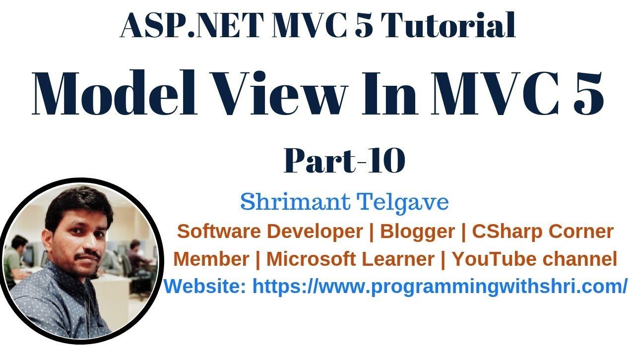 7) view in mvc 5   mvc 5 tutorial for beginners in. Net c# youtube.