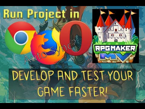 RPG Maker MV. How Run Project In Browser