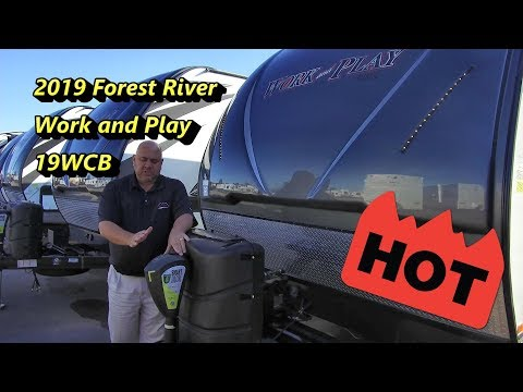 HOT DEAL 2019 Forest River Work And Play 19WCB | Price Good Till 10-24
