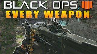 Every Weapon In Call of Duty Black Ops 4 (COD BO4 All guns)