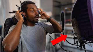 I Rapped On My Own Beat *I'M AN ARTIST NOW?* | MUSIC PRODUCER RAPS ON HIS OWN BEAT!
