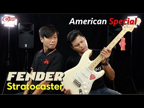 Fender American Special Stratocaster l กีต้าร์ดีที่ใครๆก็เอื้อมถึง