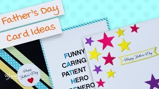 3 Cute and Easy DIY Father's Day Greeting Card Ideas