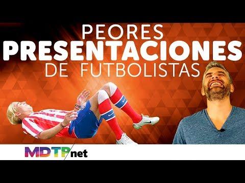Peores presentaciones de futbolistas