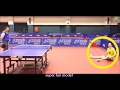 Ma Long has fun with left hand