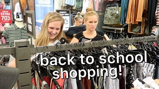 back to school clothes shopping 2019 !! part 2