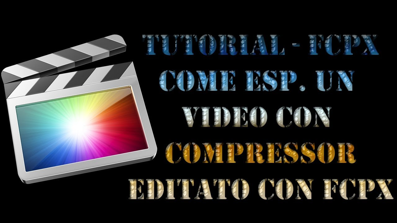 all-i final cut pro how to compress import