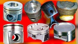 Почему поршни двигателя бывают разной формы: выпуклые, вогнутые, фигурные