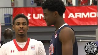 Josh Jackson vs Seventh Woods in UAA Session 3 - Five Star 2016