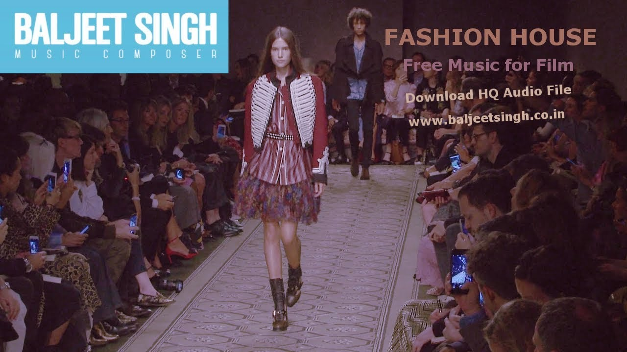 Background music for fashion show 70