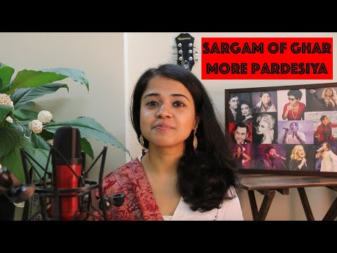 Sargam Of Ghar More Pardesiya | Lesson 2 | Chandrani's Online Music Class