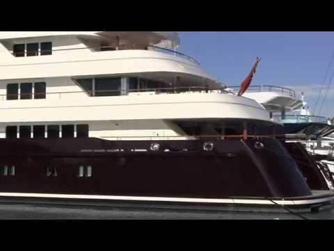 Mega Yacht 'SARAFSA' in Antibes!