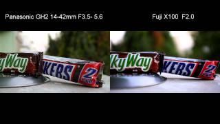 Fuji X100 vs. Panasonic GH2