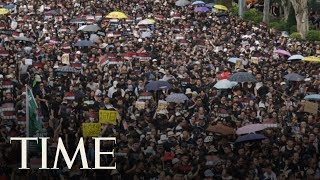 Massive Protests Force Apology From Hong Kong Leader Carrie Lam For Divisive Extradition Bill   TIME thumbnail