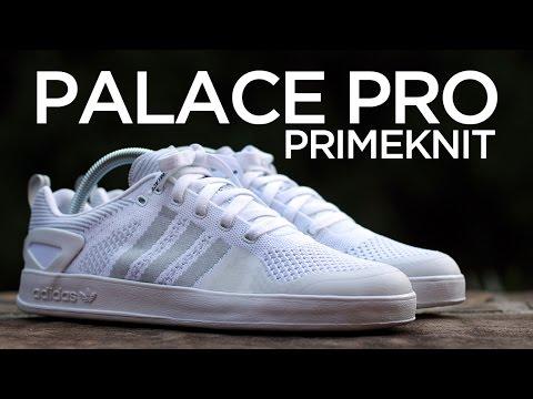 best loved 254af 256e8 Closer Look  adidas Palace Pro Primeknit - White
